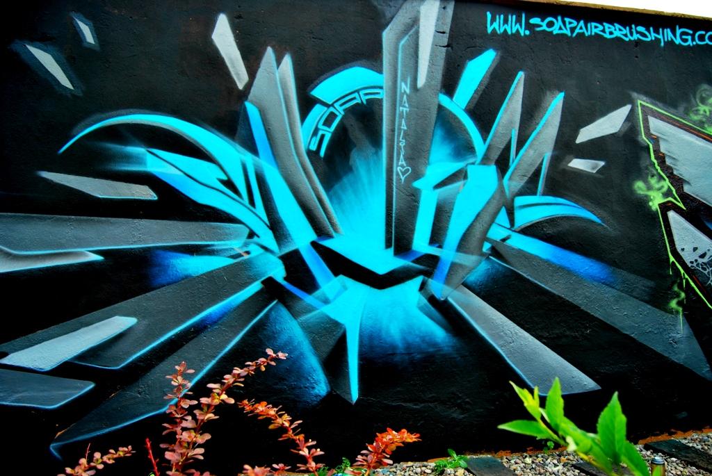 0 Street Artist SOAP's mural