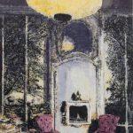 Enoc Perez 2 via Giovanni Francesco Napione, Turin Casa Mollino 2018 olio su tela / oil on canvas 254 x 203,4 cm © Enoc Perez FAD MAGAZINE