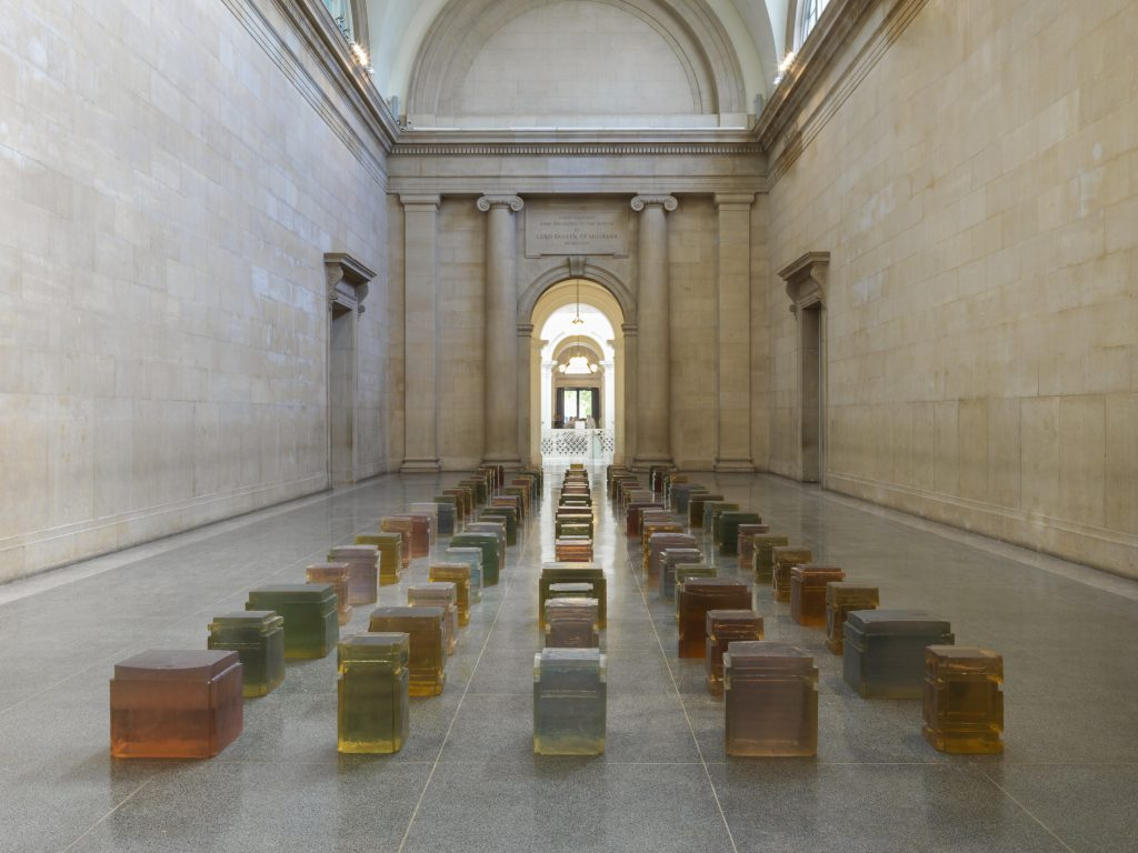 Rachel Whiteread100 Spaces installed at TB2017Mixed media Courtesy the artistPhoto courtesy Andrew Dunkley and Seraphina Neville