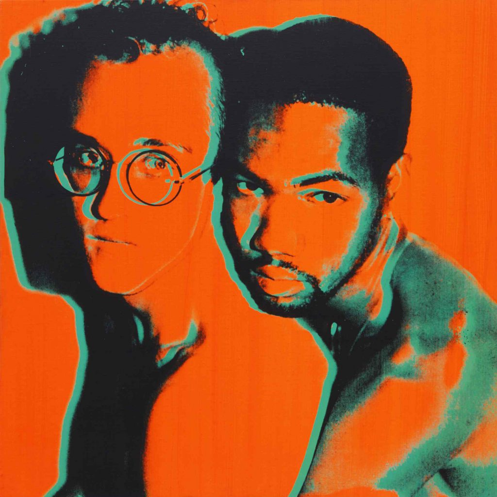 Andy-Warhol-Portrait-of-Keith-Haring-and-Juan-DuBose FAD magazine