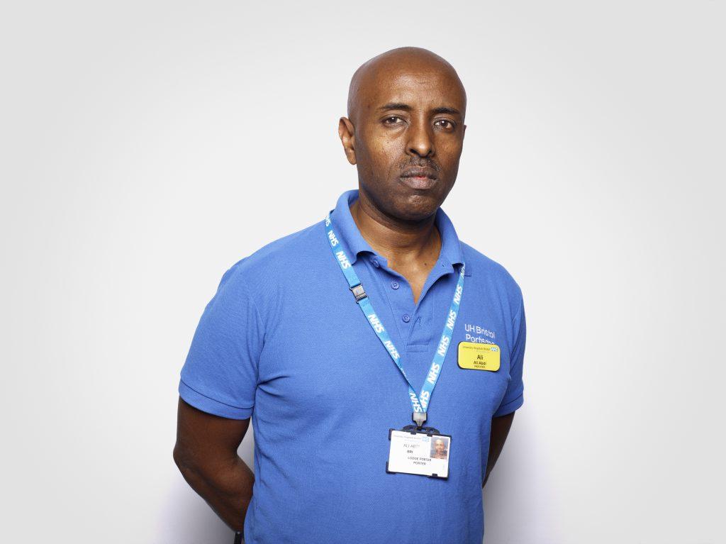 Ali Abdi, Porter,University Hospitals Bristol NHS Foundation Trust RANKIN FAD MAGAZINE