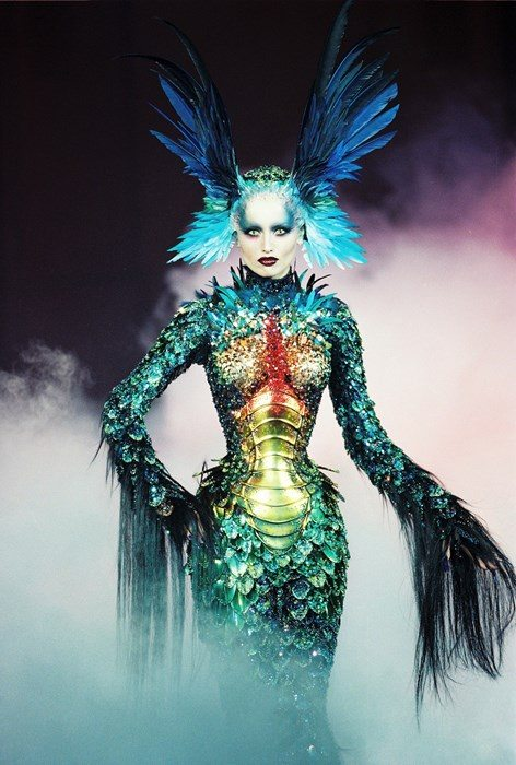 """Thierry Mugler to get his first exhibition """"Creatures of Haute Couture"""" and its going to be massive."""
