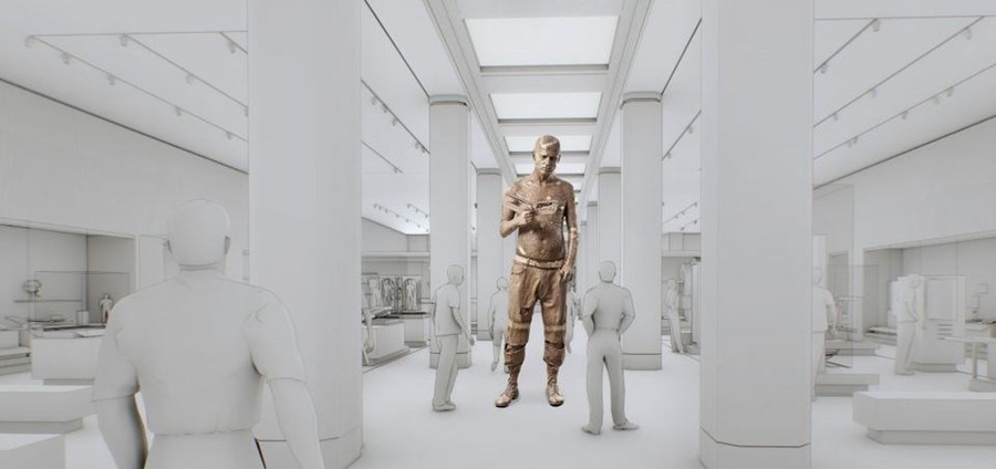 Marc Quinn  to create 3.5 metre monumental Zombie Boy sculpture for Science Museum