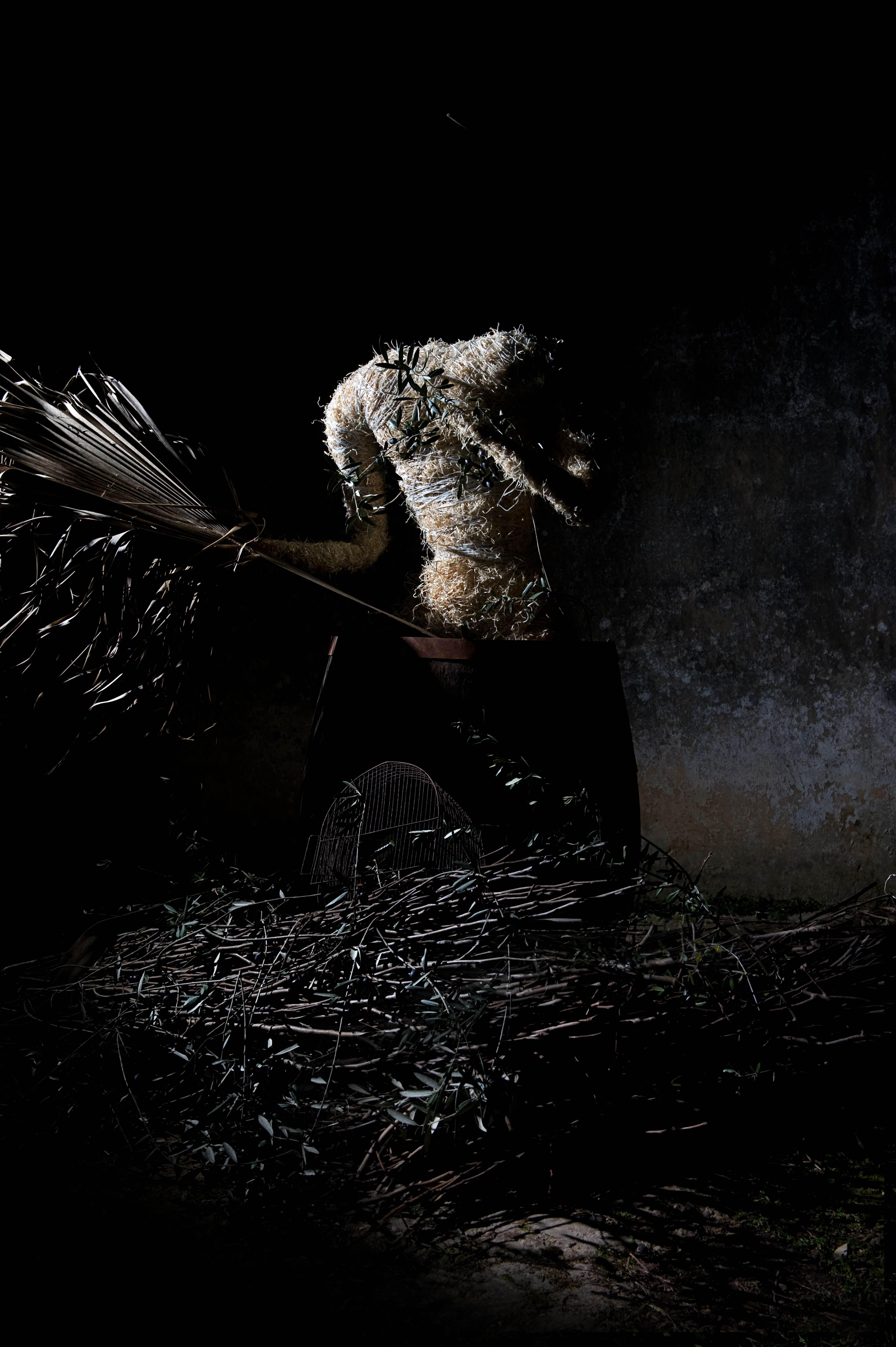 1:3 Lara Morrell San Giovanni, photographs on wood 120 x 80cm, courtesy the artist