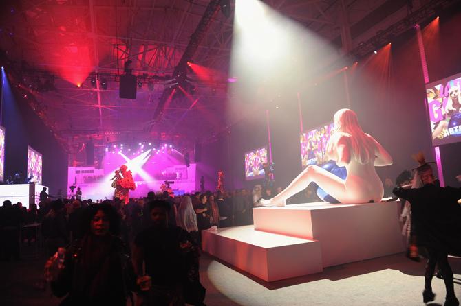 Lady Gaga Presents artRave ; - Inside
