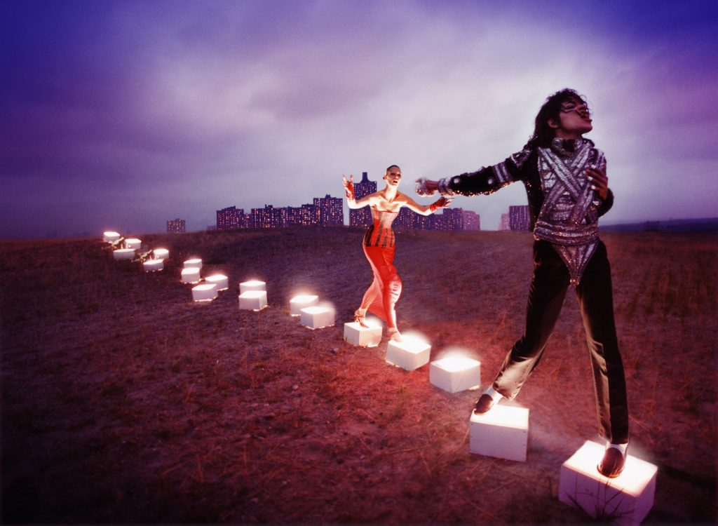 Michael Jackson An illuminating Path, 1998 by David LaChapelle. Courtesy of the artist. © David LaChapelle FAD Magazine