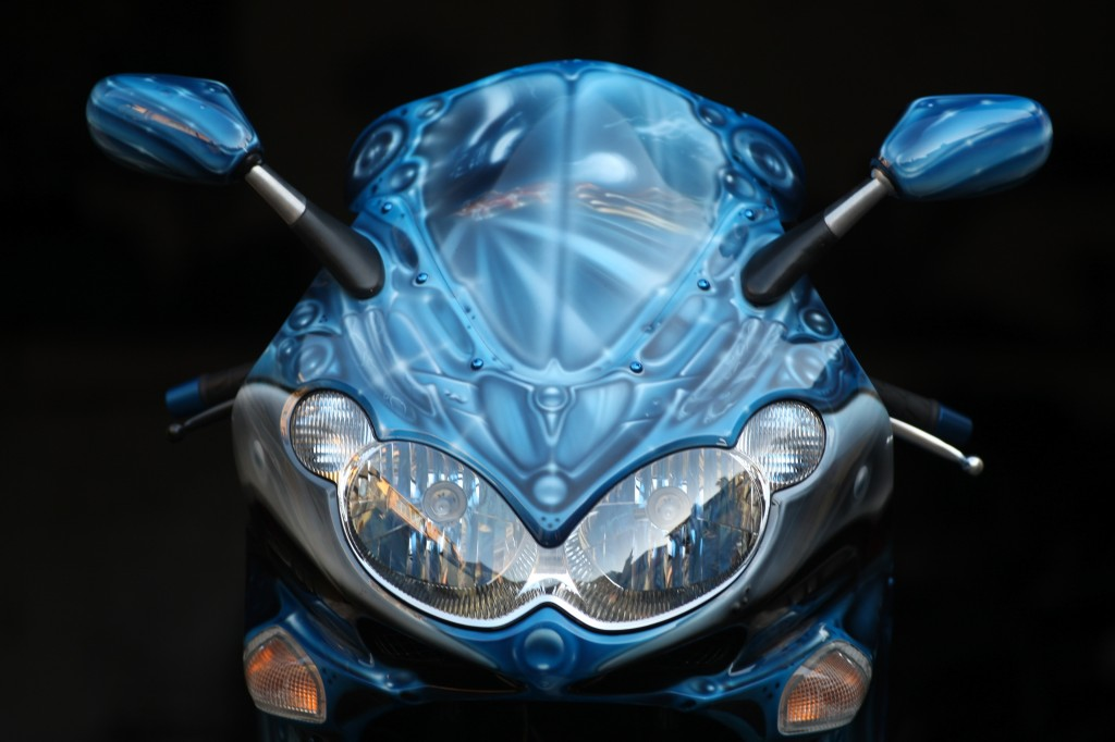 17 Street Artist SOAP's motorcycle customisation 2
