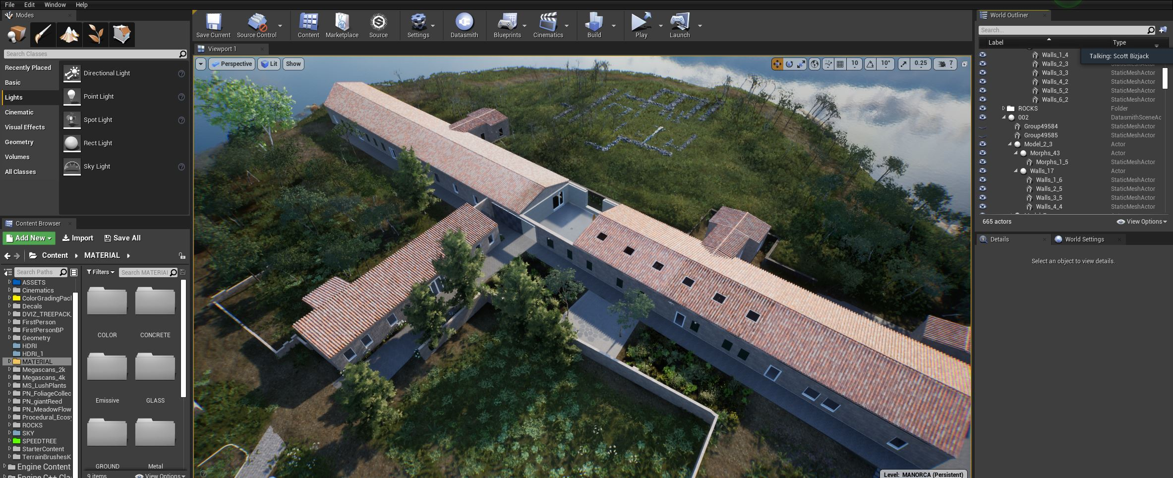 ArtLab, in software Hauser & Wirth Menorca exterior view created in HWVR Courtesy Hauser & Wirth