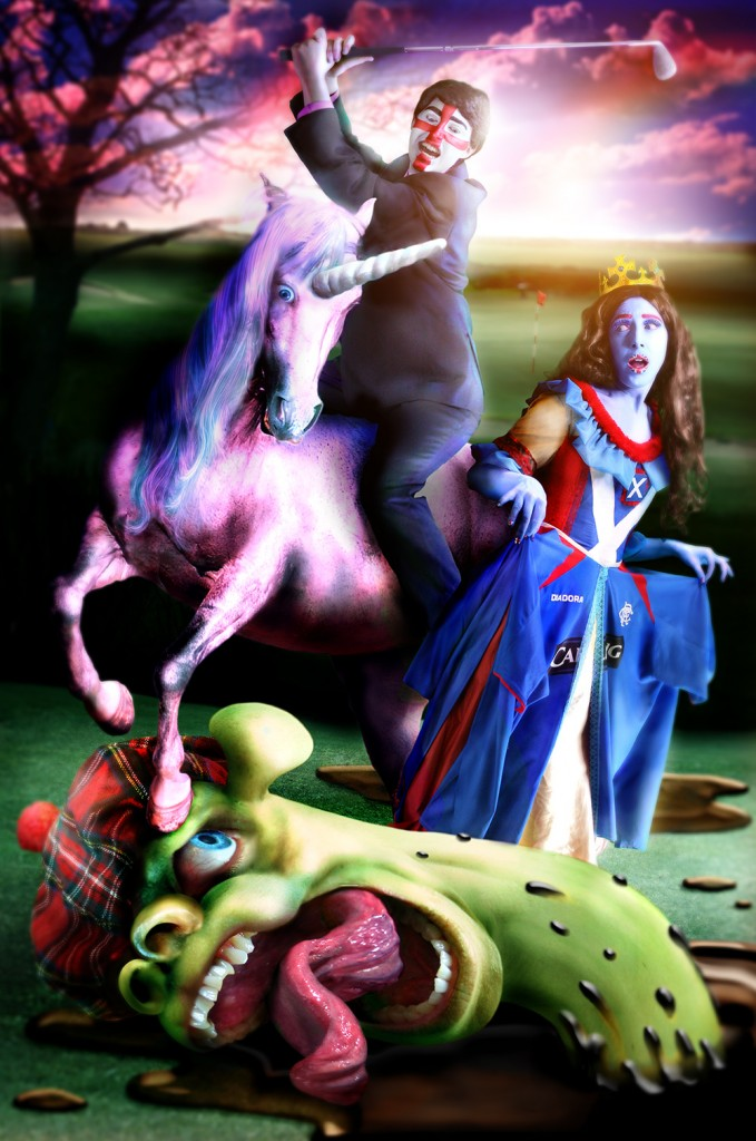 2. St George and the Monster