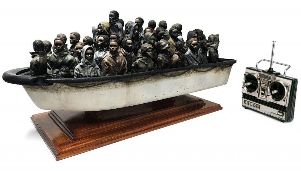 Banksy Help refugees
