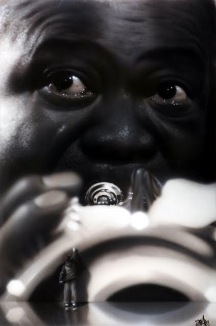 20 Street Artist SOAP's  portraits Jazz Band series Louis Armstrong