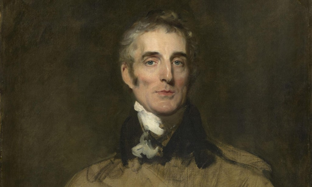 Duke of Wellington, left unfinished when the artist Sir Thomas Lawrence NPG