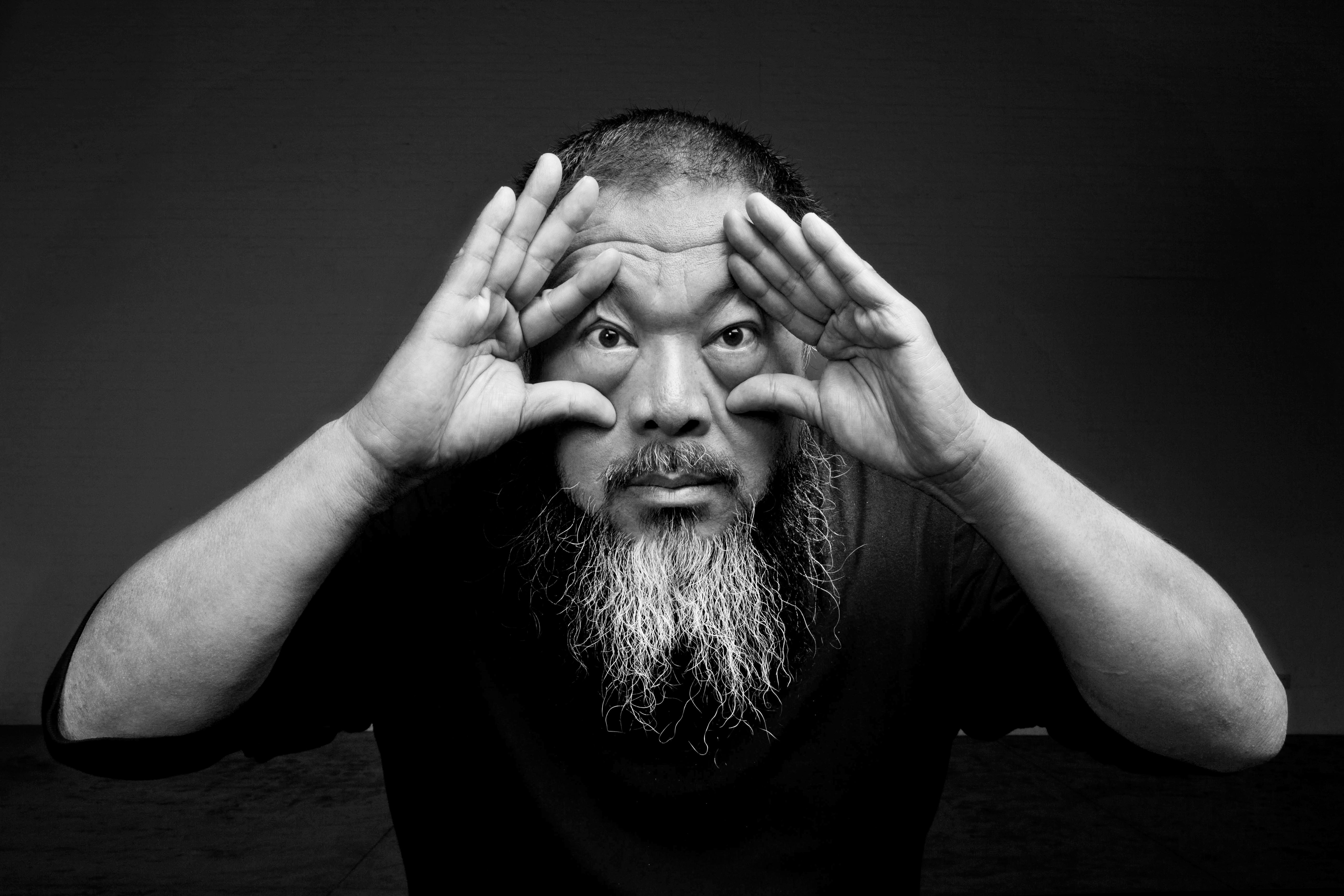 Ai Weiwei, 2012 Photo credit:Ai Weiwei Studio FAD MAGAZINE