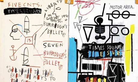 20130122 132322 Jean Michel Basquiats Burroughs triptych to be sold at London auction