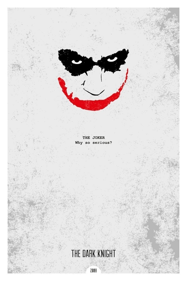 minimalist movie posters with iconic quotes by dope prints fad