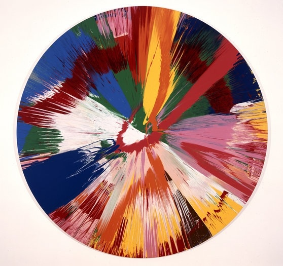 20130213 090406 Miami Pastor trys to sell forged Damien Hirst spin paintings