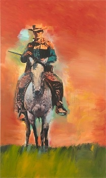 20130221 103504 Richard Princes Cowboy paintings @Gagosian  Art Opening Thursday 21st February 2013