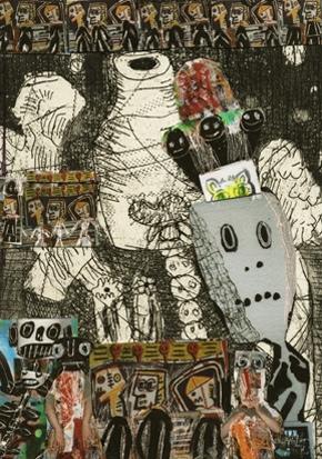 20130304 162957 Big name artists donate secret mini artworks to help students