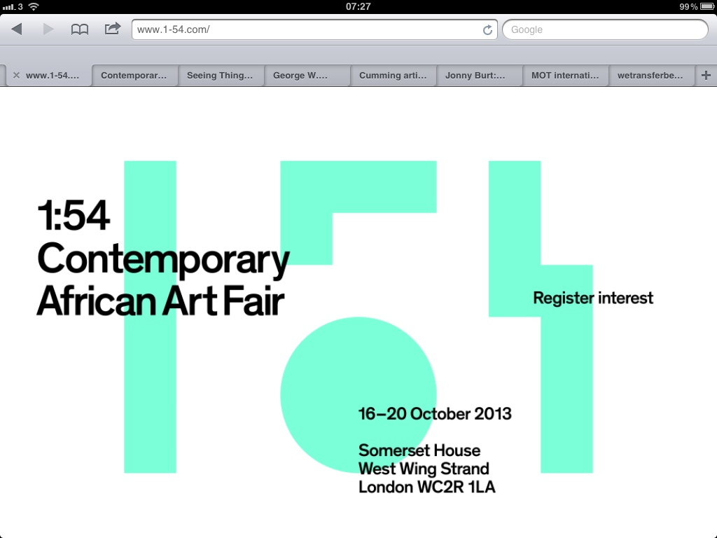 20130312 072809 New Art Fair for London Launches this October