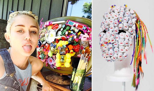 Miley Cyrus Is Now Making Art. - FAD Magazine