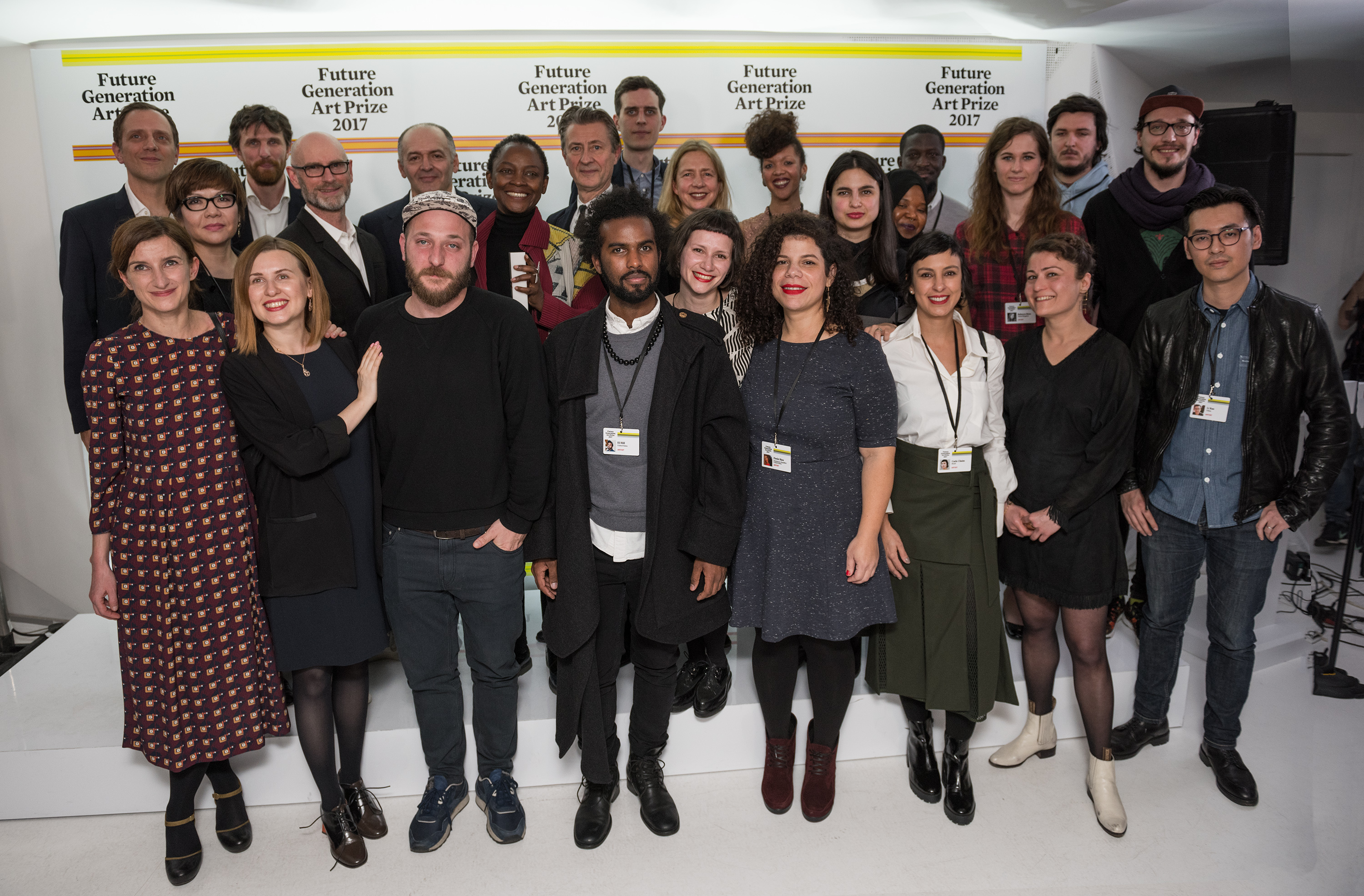 21 shortlisted artists for the Future Generation Art Prize 2017 with international jury members