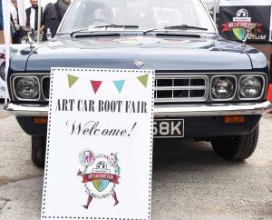 Vauxhall Art Car Boot Fair 2015 on Sunday 14th June 2015