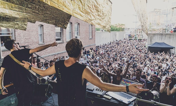 Bob Moses at Moma PS1 in 2015. Photograph: Charles Roussel/Moma PS1