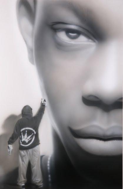 25 Street Artist SOAP's  portraits Dizzie Rascal 2012