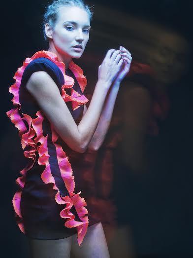 Design by John Herrera. Photographer: MJ Suayan Model: Yuliya Prilepova (Elite Models)