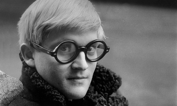 David Hockney photographed in London in 1966. Photograph: Jane Bown