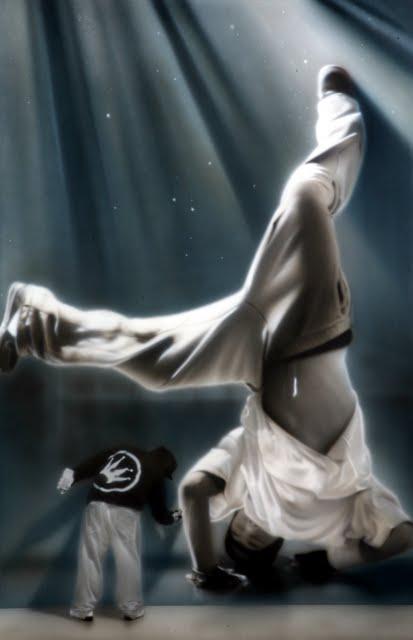 26 Street Artist SOAP's  breakdancers series 2011 2
