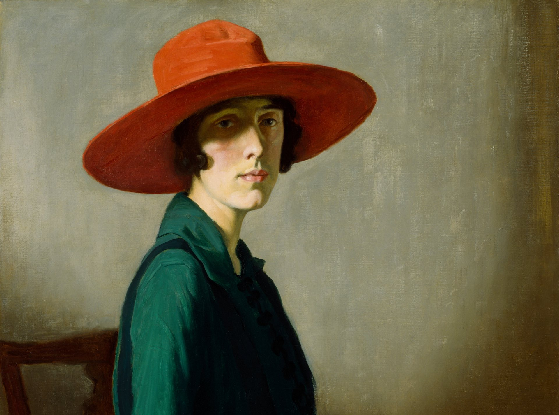 Lady With a Red Hat, 1918, by William Strang. Photograph: Glasgow Museums and Libraries Collections