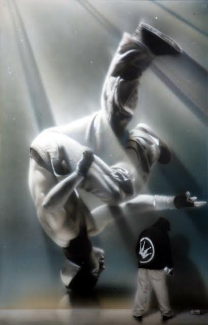 27 Street Artist SOAP's  breakdancers series 2011 3