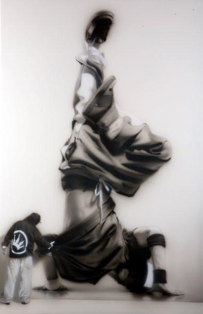 28 Street Artist SOAP's  breakdancers series 2011 4