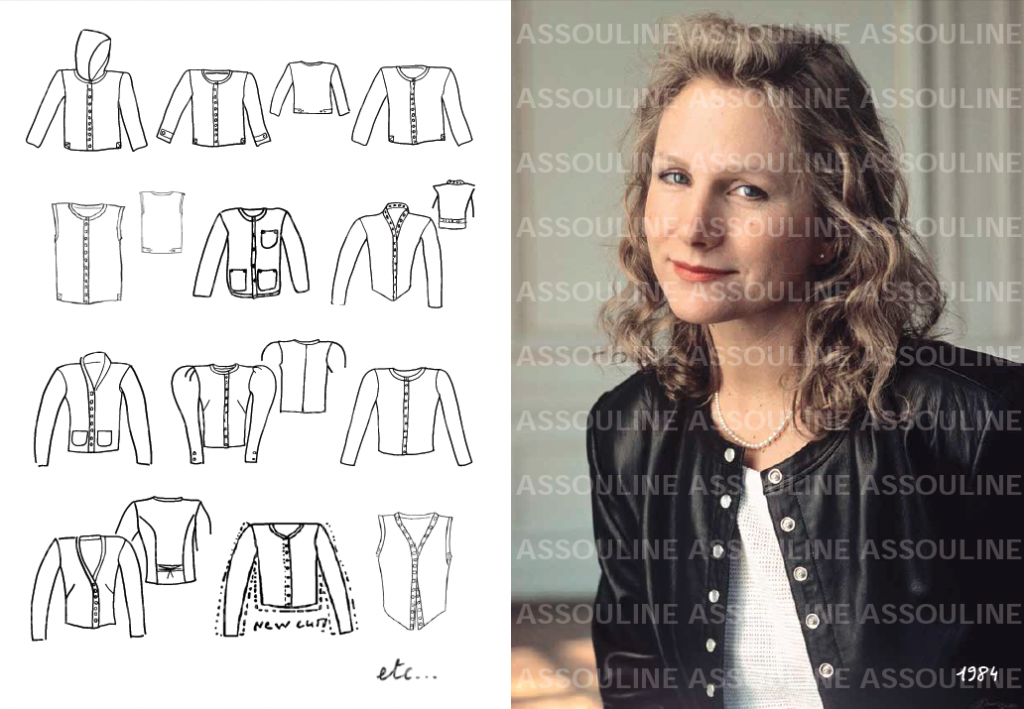Agnès b. The Snap Cardigan, published by Assouline FAD Magazine