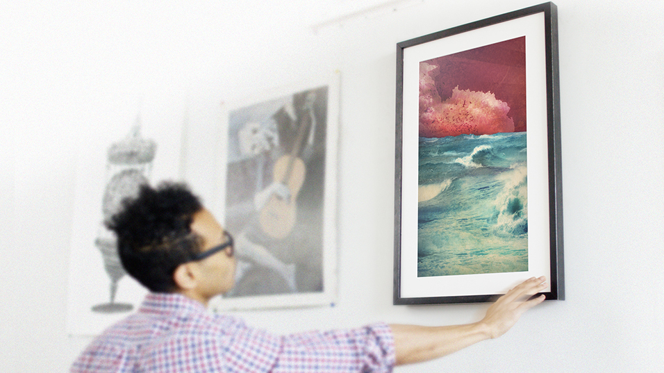 View a digital art collection of masters and emerging artists on a ...