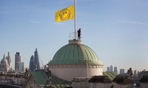 Jeremy Deller flies flag for Thomas More's Utopia, 500 years later