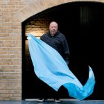 Ai Weiwei designs flag for 70th anniversary of the Universal Declaration of Human Rights