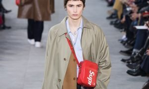Louis Vuitton presents collaboration with skater label Supreme
