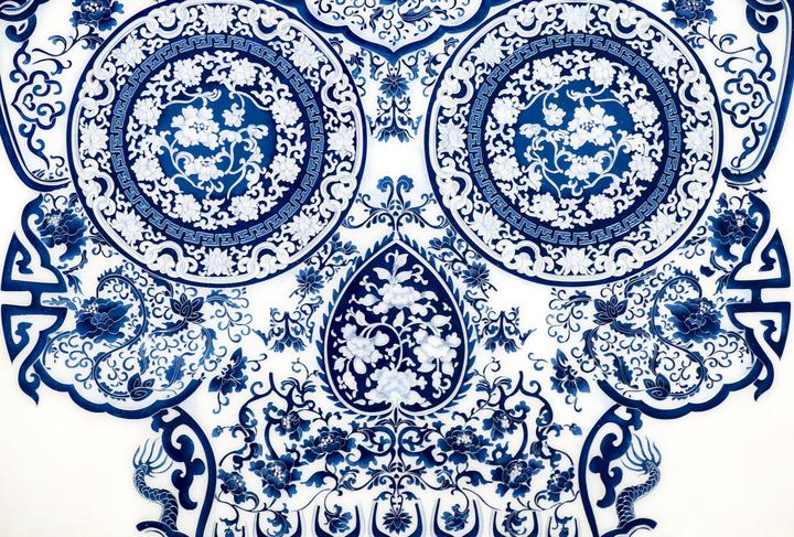 Jacky Tsai - Cloisonne Skull