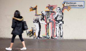 Banksy Basquiat Barbican FAD Magazine