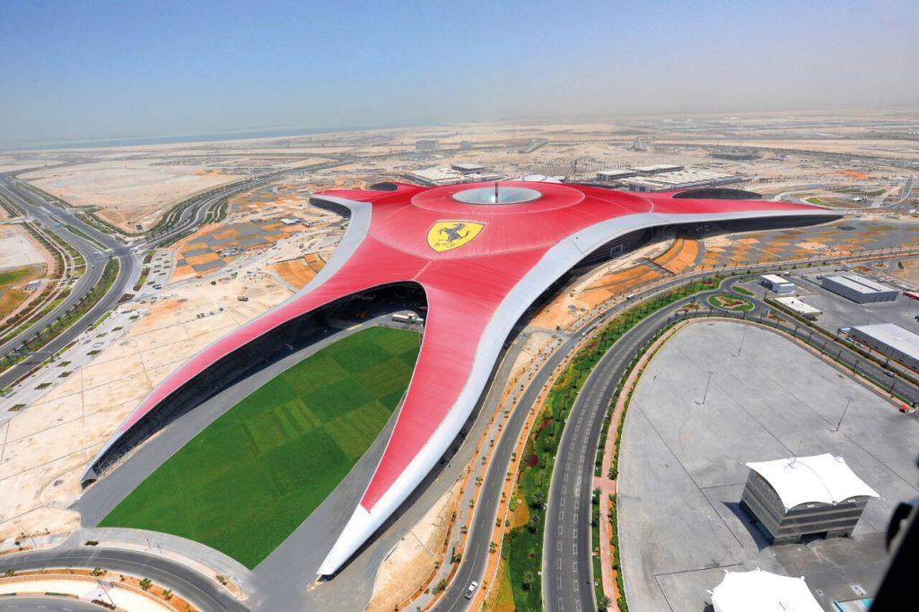 Ferrari World Abu Dhabi, 2010 FAD Magazine