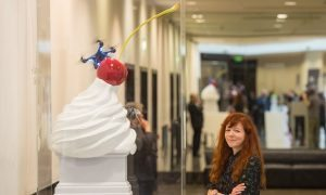Fourth plinth shortlist includes winged bull and giant cream blob