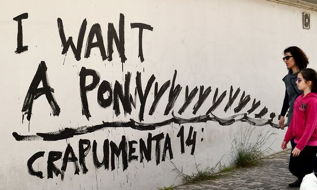 Crapumenta ! … Anger in Athens as the blue lambs of Documenta hit town