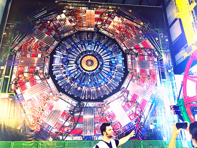 CMS detector. Laura Gilchrist/Flickr, CC BY-ND