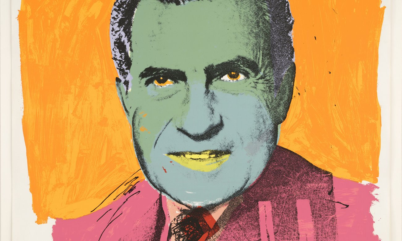 Andy Warhol's Vote McGovern, 1972, will be part of American Dream at the British Museum. Photograph: Scala