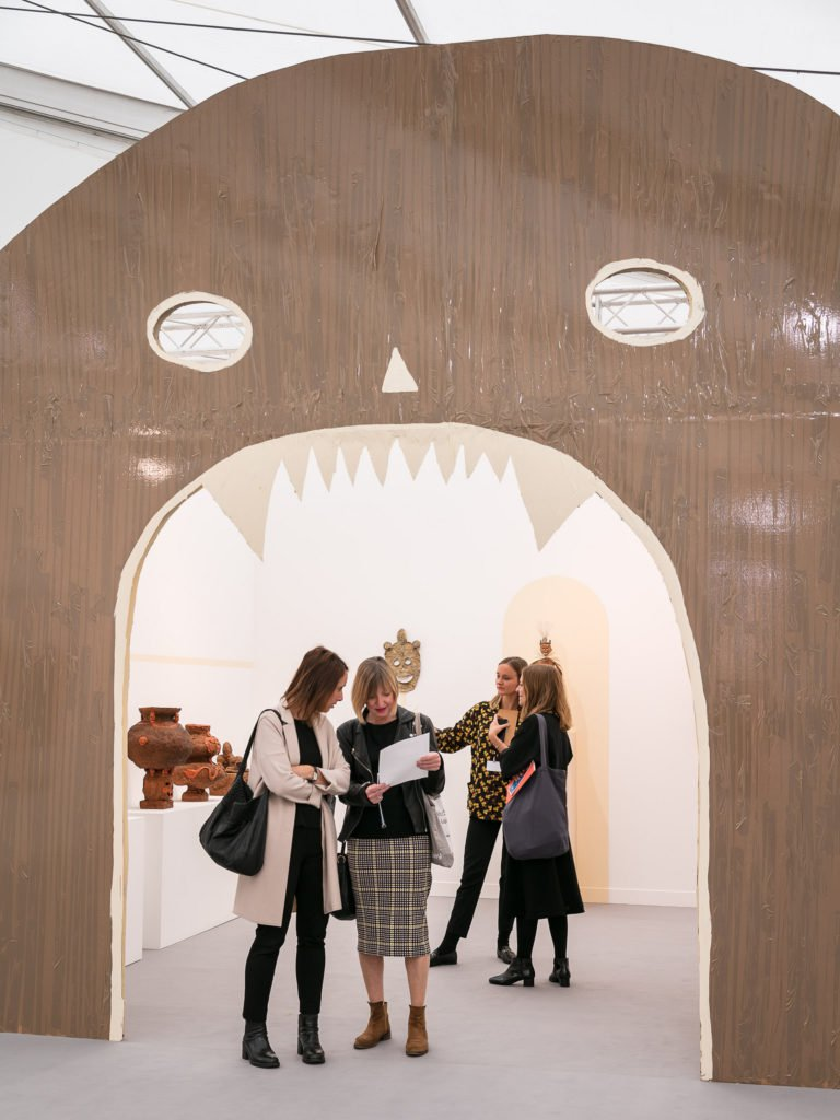 Emalin, Focus section, Frieze London 2017. Photo by Mark Blower. Courtesy of Mark Blower/Frieze. FAD magazine