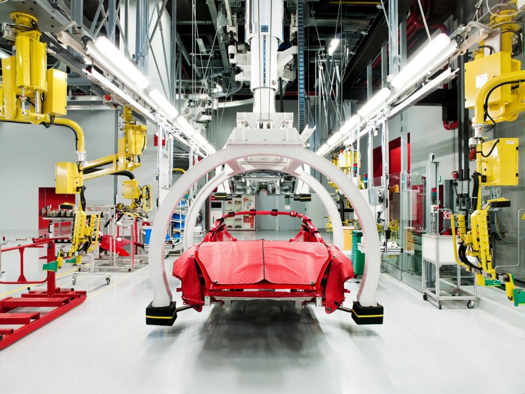 Present Day Manufacturing of the Ferrari California car FAD Magazine