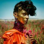 Tim Walker, Cloud 9, Radhika Nair. Fashion: Halpern and Dolce & Gabbana. Pershore, Worcestershire, 2018© Tim Walker Studio
