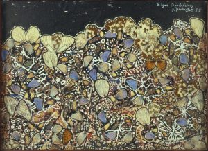 Jean Dubuffet, Paysage aux argus, (Landscape with Argus), 1955, Collection Fondation Dubuffet.